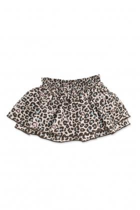 Falda Culetín Leopardo niña