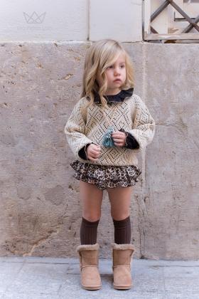 Falda Braguita Leopardo niña