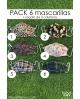 Mascarilla PACK 6 UNIDADES + 3 coleteros