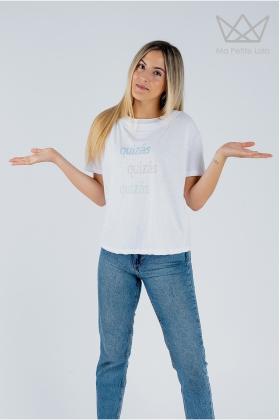 Camiseta mamá Quizás