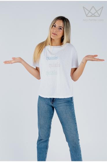 Camiseta Quizás