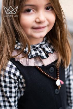 Camisa cuadros vichy niña