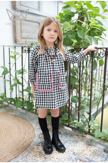 Vestido cuadros vichy Ma Petite Lola
