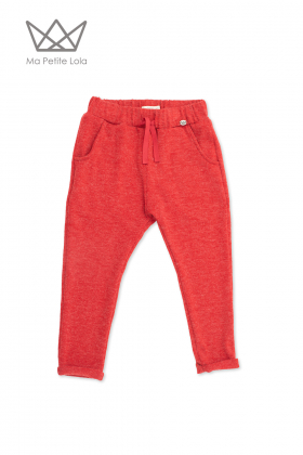 Pantalón jogger rojo