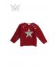 Jersey estrella granate