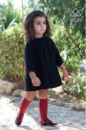 Vestido niña negro