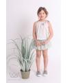 Conjunto MINORI Ma Petite Lola  falda culetín y blusón