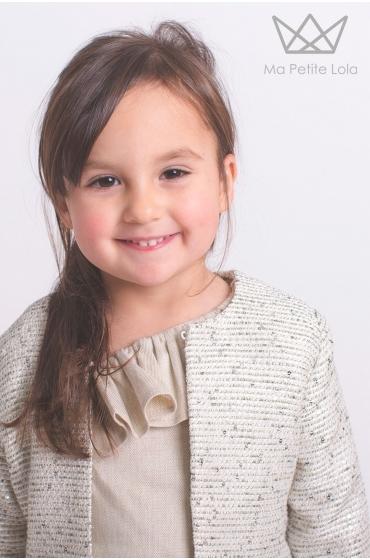 Chaqueta Lola POSITANO Ma Petite Lola, marca moda infantil