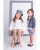 Chaqueta niña vestir AMALFI Ma Petite Lola