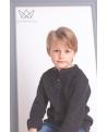 Camisa niño lino negro