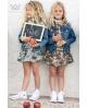 Falda camuflaje para niñas de Ma Petite Lola