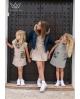 Vestido camuflaje Ma Petite Lola, marca moda infantil