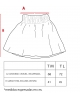 Falda camuflaje mujer Ma Petite Lola moda infantil, vestir a juego
