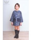 Vestido camuflaje Ma Petite Lola moda infantil