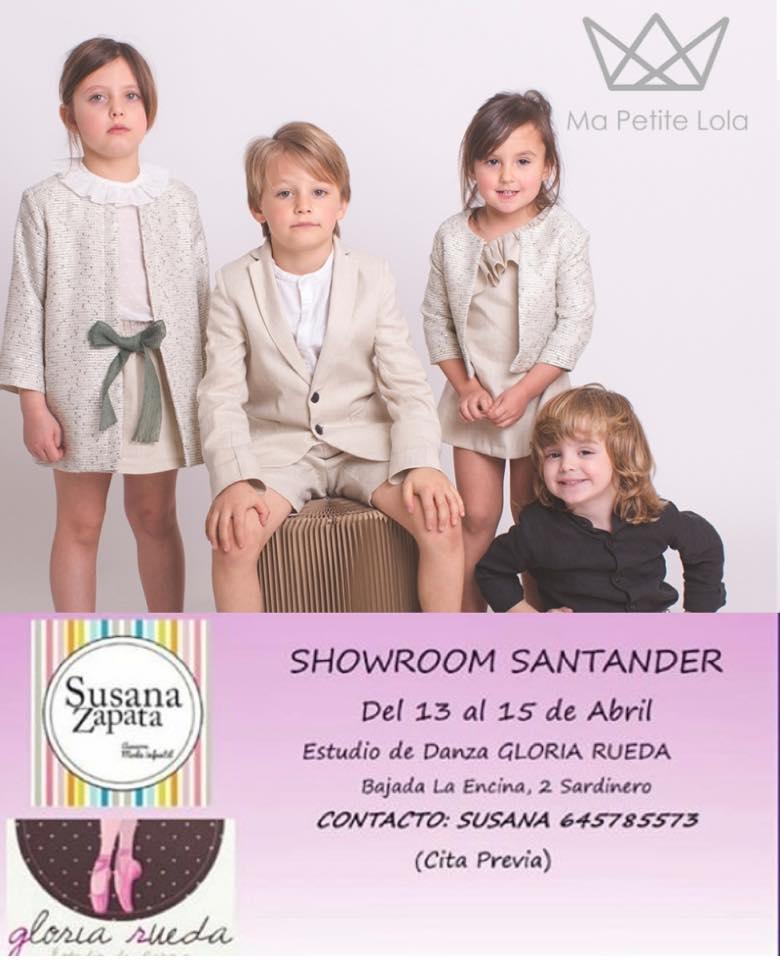 Showroom moda infantil, Ma Petite Lola, Nueva marca moda infantil, Made in Spain
