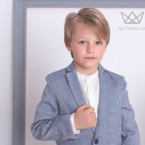 Americanas lino chicos, moda infantil para bodas, moda infantil para comuniones, ropa vestir chicos, Ma Petite Lola