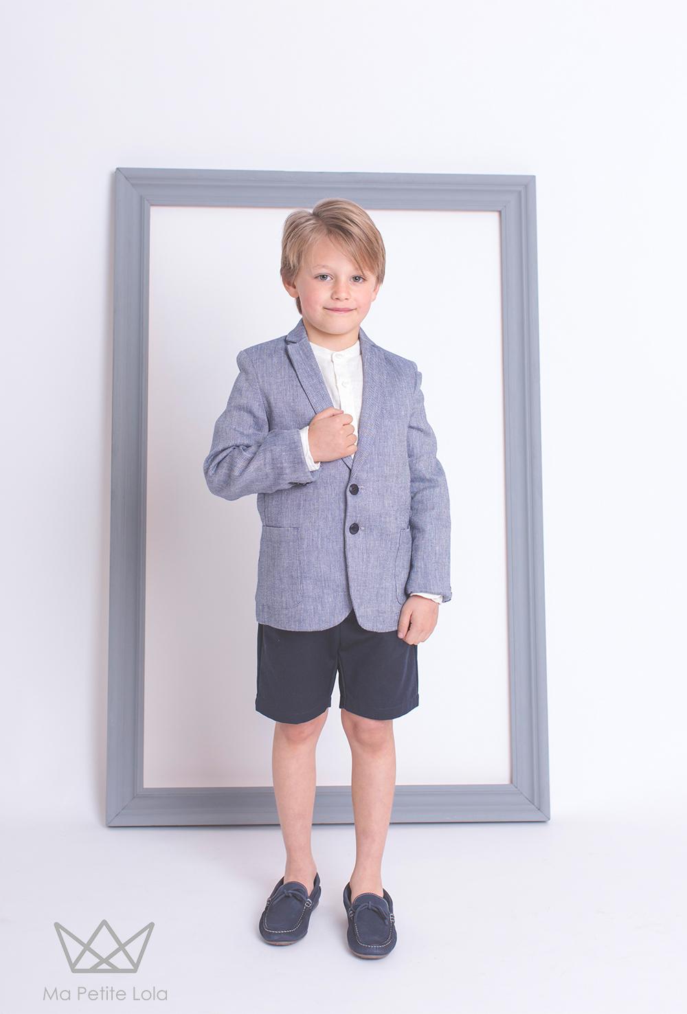 Americanas chicos, moda infantil para bodas, moda infantil para comuniones, ropa vestir chicos, Ma Petite Lola