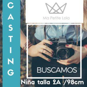 Casting moda infantil, Ma Petite Lola, Ropa Infantil, Kids Wear