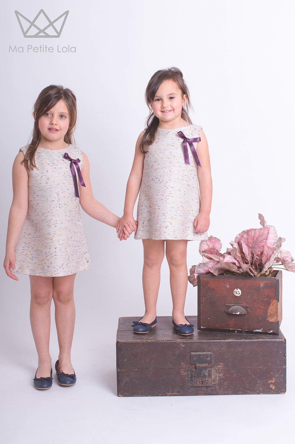 Marca de moda infantil, Ma Petite Lola, Marca ropa infantil, moda infantil made in spain