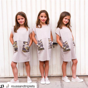 Rousseandtriplets, Macarena, Carlota y Mencia, trillizas instagram, blog moda infantil, ma petite lola