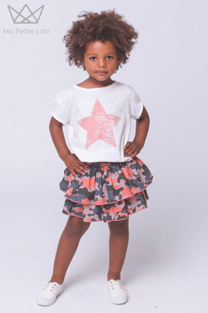 FALDA CULETIN Moda infantil, Ma Petite Lola