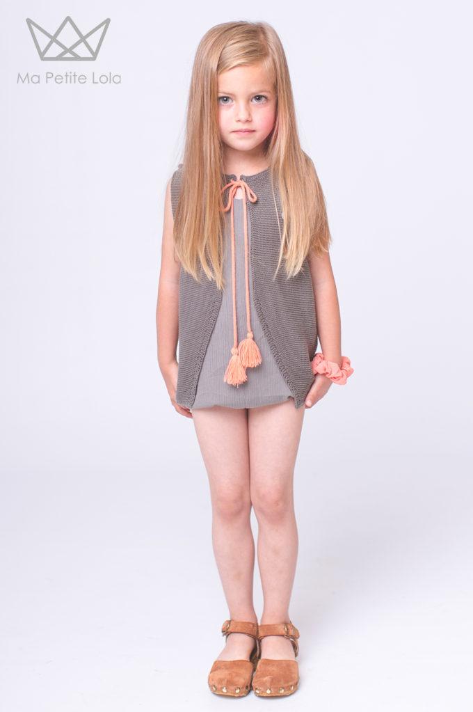 MONO CHALECO Moda infantil, Ma Petite Lola