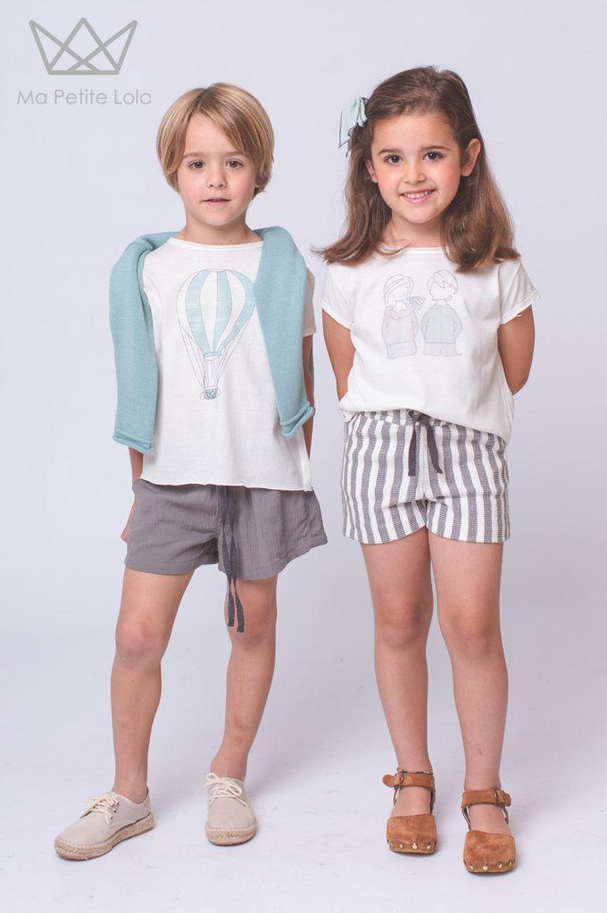 camisetas Ma Petite Lola, moda infantil, kids wear