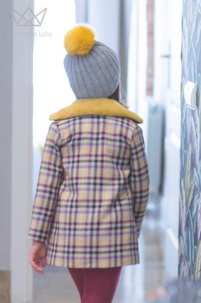 Ma Petite Lola, moda infantil, ropa infantil, made in spain, vestido cuadros, 4