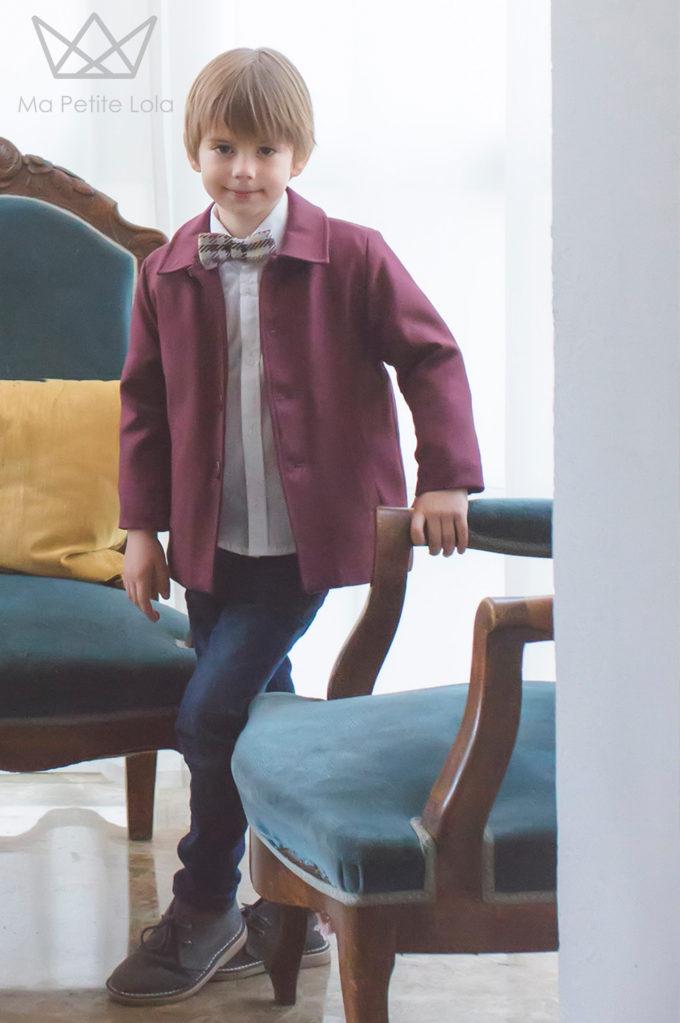 Ma Petite Lola, moda infantil, ropa infantil, made in spain, vestido cuadros, 3