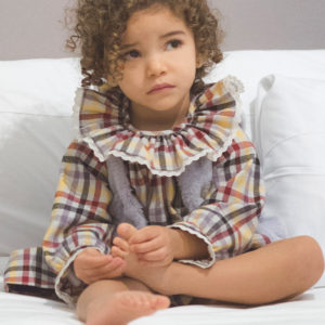Ma Petite Lola, moda infantil, ropa infantil, made in spain, vestido cuadros