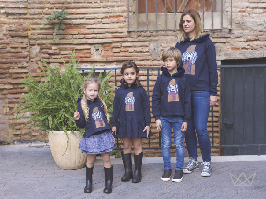 Moda Infantil, Ma Petite Lola, kids wear, university, 7