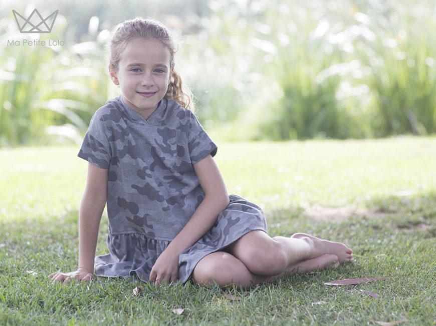 Ma Petite Lola, moda infantil, NATURE camuflaje, 3