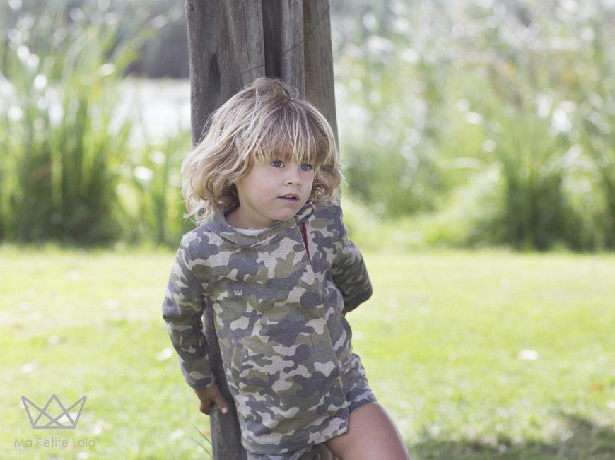 Ma Petite Lola, moda infantil, NATURE camuflaje