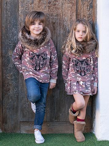 Ma Petite Lola moda infantil camuflaje